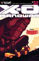 X-O Manowar Vol 3 32 Allen Variant