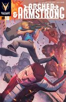 Archer and Armstrong Vol 2 18 Molina Variant