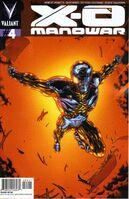 X-O Manowar Vol 3 4 Kramer Variant