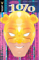 Archer and Armstrong The One Percent Vol 1 1 Hughes Bear Mask Variant