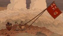 Canadian army.flag.raise