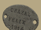 French Identification Tag