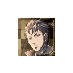 Giulio's portrait in <i>Valkyria Chronicles 3</i>.