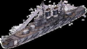 Gallian Warship