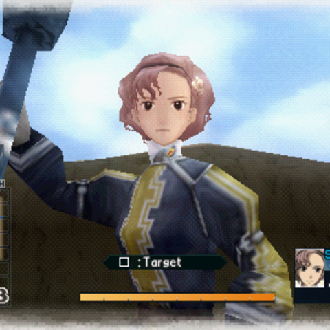 In-game screenshot of Coleen.