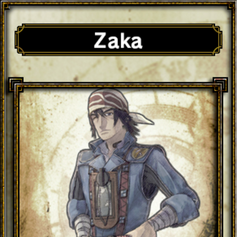 Zaka's appearance.