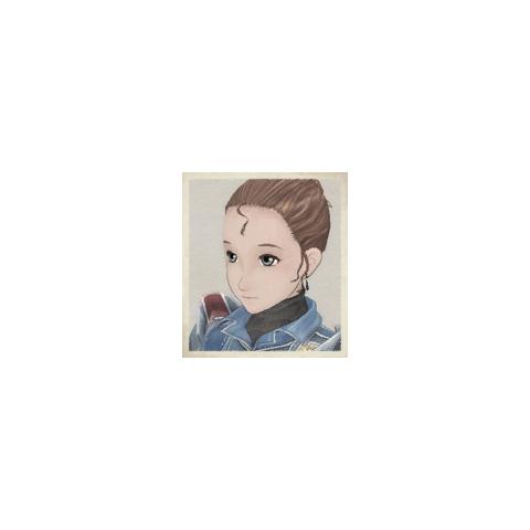 Dorothy's portrait in <i>Valkyria Chronicles</i>.