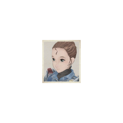 Dorothy's portrait in <i>Valkyria Chronicles</i>.