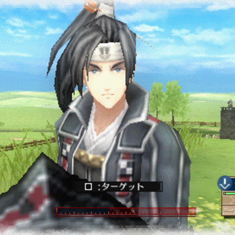 In-game screenshot of Shin in <i>Valkyria Chronicles 3</i>.
