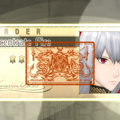 Selvaria issues an order in <i>Valkyria Chronicles</i>.