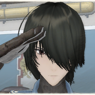 Marina's appearance in <i>Valkyria Chronicles</i>.