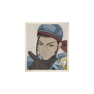 Noce's portrait in <i>Valkyria Chronicles</i>.