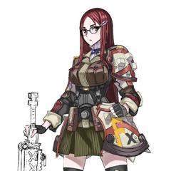 Summer combat uniform.