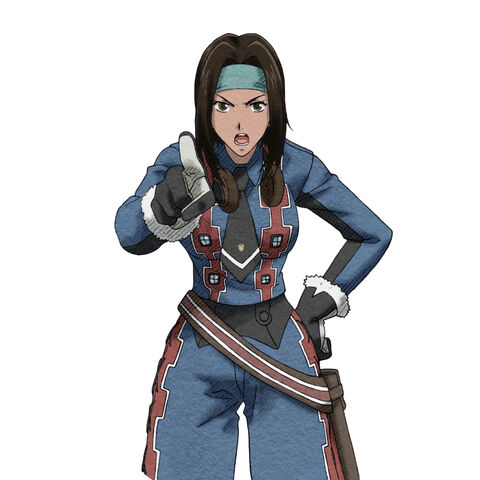 Lavinia's Combat appearance in Valkyria Chronicles 2.