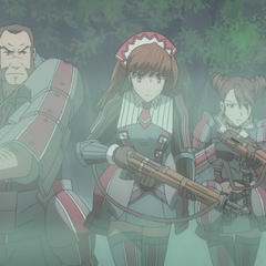 Squad 7 in the <i>Valkyria Chronicles 3 OVA</i>.