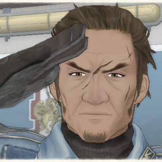 Musaad's appearance in Valkyria Chronicles.