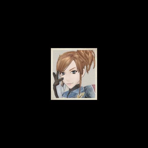 Ramona's portrait.