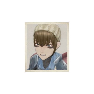 Wendy's portrait in <i>Valkyria Chronicles</i>.
