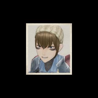Wendy's portrait in <i>Valkyria Chronicles</i>.
