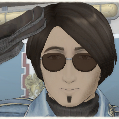 Walter's appearance in Valkyria Chronicles.