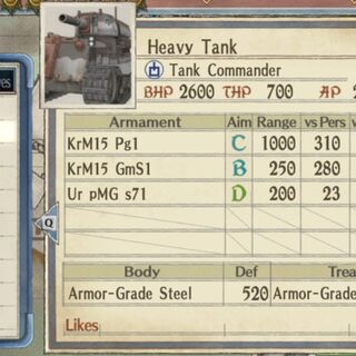 Heavy tank 1 hull
