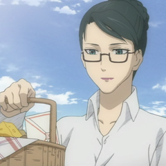 Eleanor's post-war appearance in the <i>Valkyria Chronicles anime</i>.