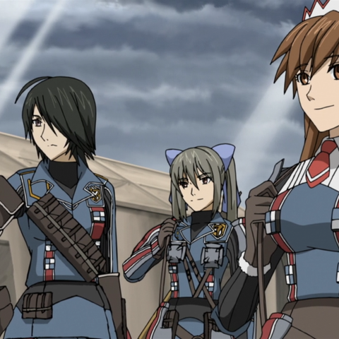 Marina's appearance in the Valkyria Chronicles 3 OVA.