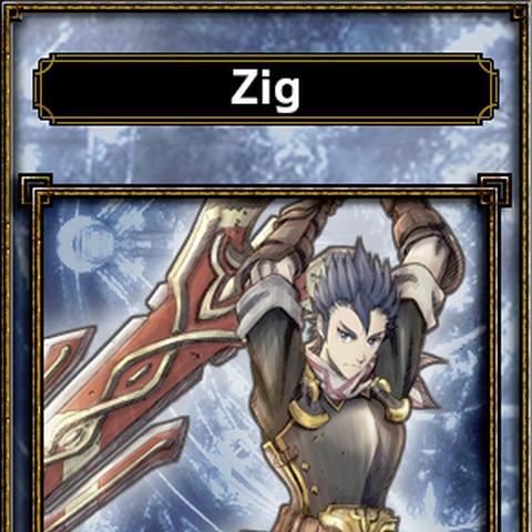 Zig's appearance in Samurai & Dragons.