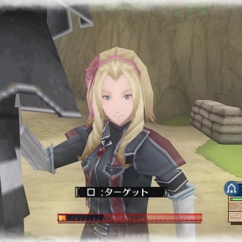 In-game screenshot of Margit.