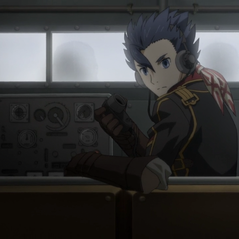 Zig's appearance in the Valkyria Chronicles 3 OVA.