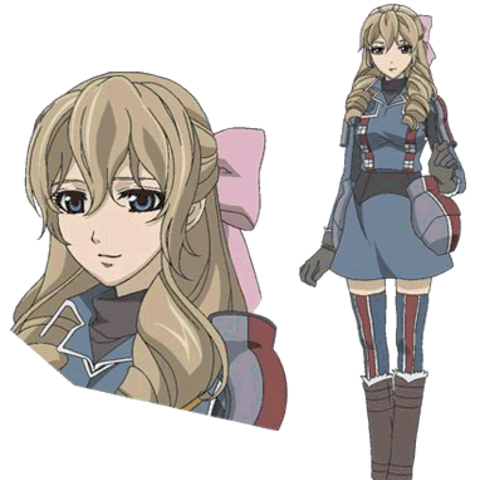 Susie's appearance in the <i>Valkyria Chronicles Anime</i>.