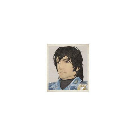 Hannes' portrait in <i>Valkyria Chronicles</i>.