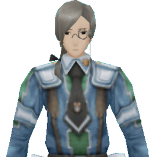 Heinz's CG appearance in Valkyria Chronicles 2.