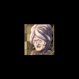 Gloria's portrait in <i>Valkyria Chronicles 3</i>.