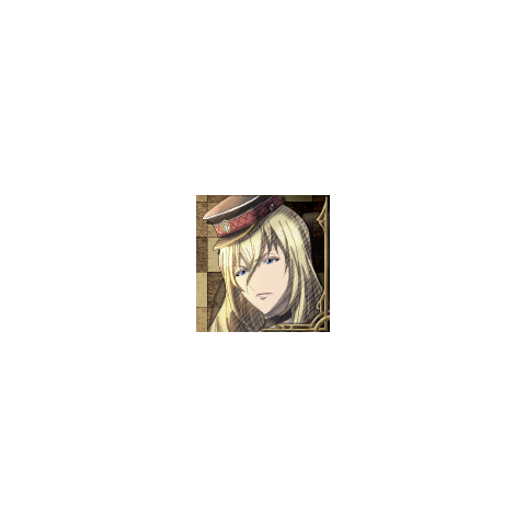 Leila's portrait in <i>Valkyria Chronicles 3</i>.