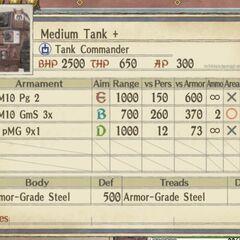 Medium Imperial Tank +