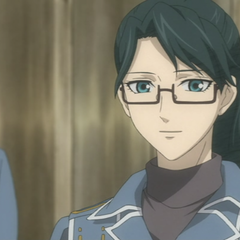 A younger Eleanor in the <i>Valkyria Chronicles Anime</i>.