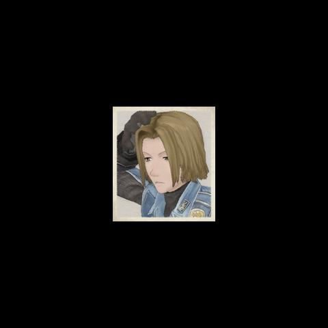 Herbert's portrait in <i>Valkyria Chronicles</i>.