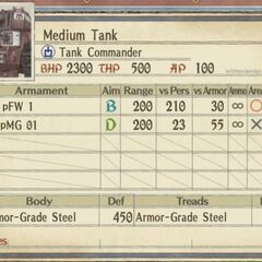 Medium Imperial Tank 1 (flamethrower version)