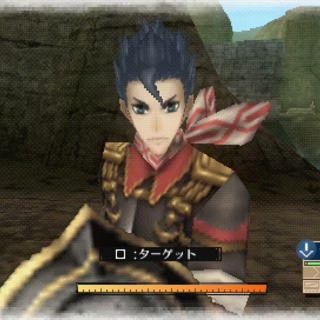 In-game screenshot of Zig in Valkyria Chronicles 3.