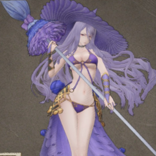 In-game render (swimsuit).