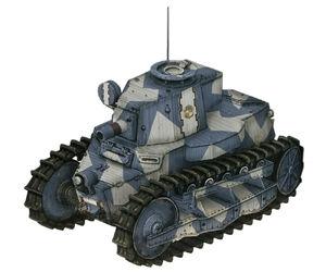 Type36 light tank a