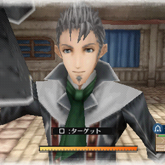 In-game screenshot of Giulio in <i>Valkyria Chronicles 3</i>.
