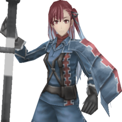 Gallian Army outfit.<br />Render<br />Lancer
