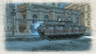 Ultimate Tank Rear Quarter View