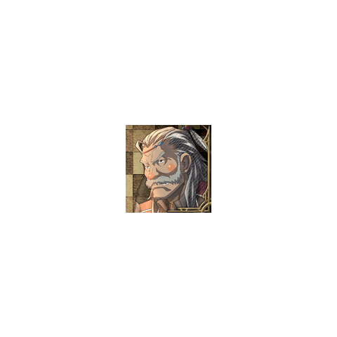 Zahar's portrait in <i>Valkyria Chronicles 3</i>.