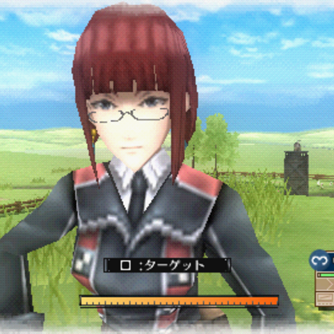 In-game screenshot of Valerie in <i>Valkyria Chronicles 3</i>.
