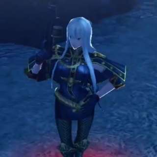 In-game screenshot of Selvaria in <i>Chaos Heroes Online</i>.