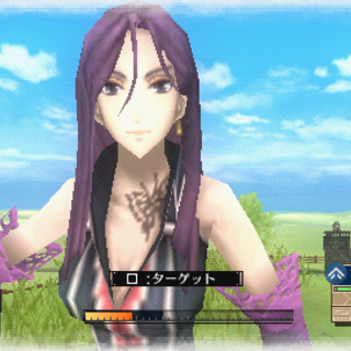 In-game screenshot of Frederica in <i>Valkyria Chronicles 3</i>.