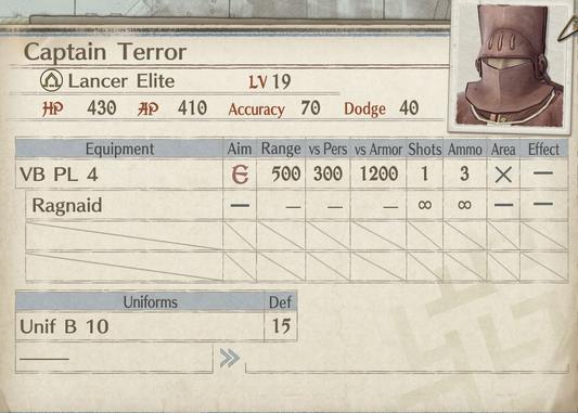 Captain Terror-Card